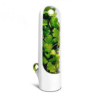 Qian Herb Saver Pod Storage Container Freshest Produce Keeper Greens Fresh Cup Kitchen Gadgets