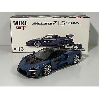 McLaren Senna Victory Grey RHD 1:64 MiniGT MGT00013R