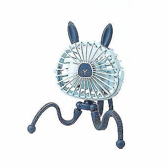 Питание ручные вентиляторы господа мини регулируемый подвесной электрический вентилятор octopus стенд портативный портативный USB зарядный вентилятор кулер для