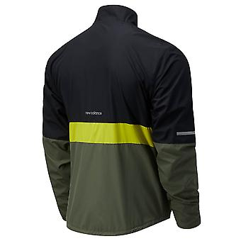New Balance Mens 2021 Accelerate Protect Water Resistant Athletic Jacket