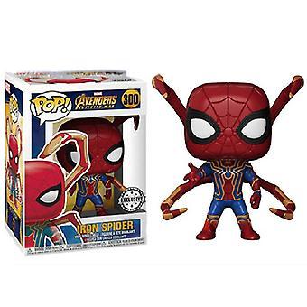 Steel Spider Model Handgemaakte Speelgoedpop