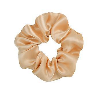Femmes Soie Scrunchie Élastique Fait à la main Multicolore Bande de Cheveux Ponytail Holder Headband Hair Accessories 3.9 Inch