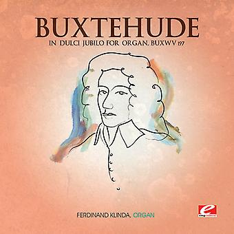 D. Buxtehude - Buxtehude: In Dulci Jubilo for Organ, Buxwv 197 [CD] USA import