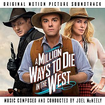 Joel McNeely - Million Ways to Die in the West [CD] USA import