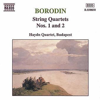 A. Borodin - Borodin: jousikvartettoa nrot 1 ja 2 [CD] Yhdysvallat tuoda