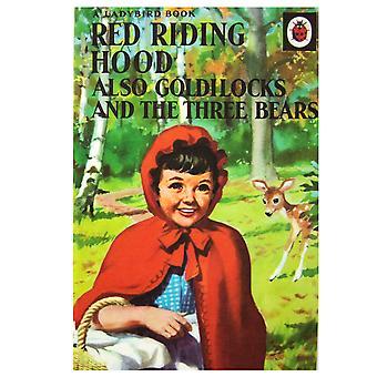 مجموعة الفن الأحمر ركوب هود البطاقة