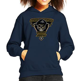 Death From Above Mobile Infantry Starship Troopers Kid's Hooded Sweatshirt