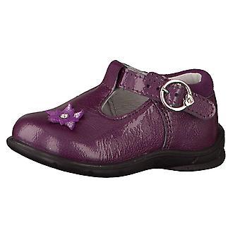 Ricosta Pepino Girls Winsy Purple Patent T-bar Shoes