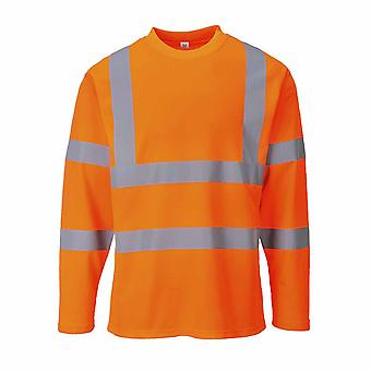 Portwest - Hi-Vis Sicherheit Workwear Langarm-t-Shirt
