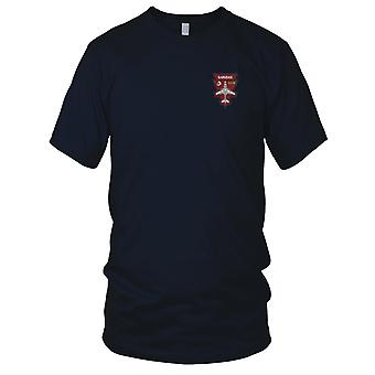 US Navy VAQ-134 Electronic Attack Squadron Embroidered Patch - EA-6B Garudas Mens T Shirt
