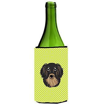 لوح شطرنج الجير الأخضر الأسود ذي الشعر الطويل الكلب الألماني تان زجاجة النبيذ المشروبات Insula