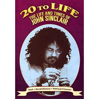 20 to Life: Life & Times of John Sinclair [DVD] USA import