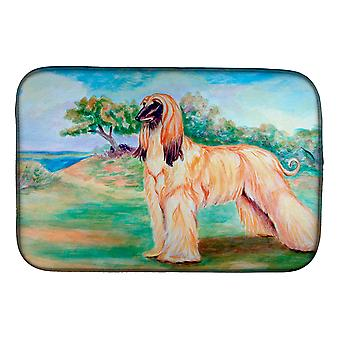 Carolines Treasures  7138DDM Afghan Hound Dish Drying Mat