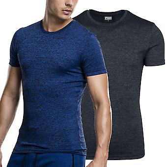 Urban classics - active melange fitness sports training shirt