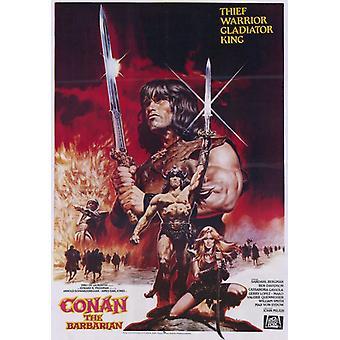 Conan o bárbaro filme Poster (11 x 17)