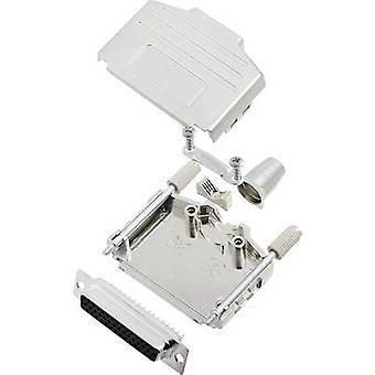 encitech DPPK25-M-HDS44-K 6355-0014-13 D-SUB وعاء مجموعة 180 درجة عدد من دبابيس: 44 دلو لحام 1 مجموعة