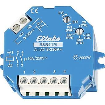 Impulse changeover switch Surface/flush mount Eltako ESR61M 1 maker, 1 maker 230 V DC, 230 V AC 10 A 2000 W 1 pc(s)