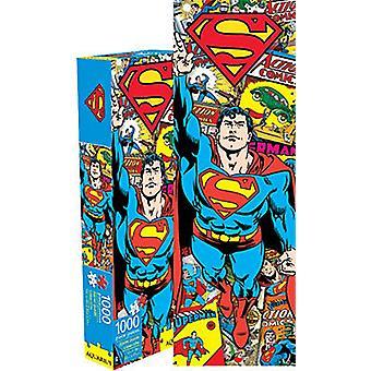 Supermann Retro slank 1000 stykke puslespill