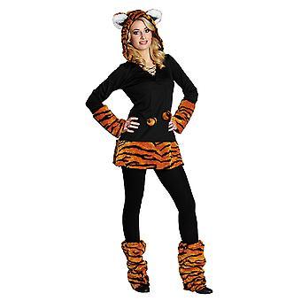 虎は猫のコスチューム大人用衣装します。