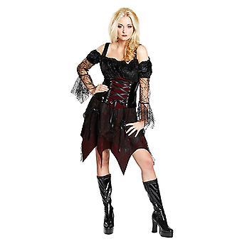 Gothic Queen Halloween Kostüm für Damen