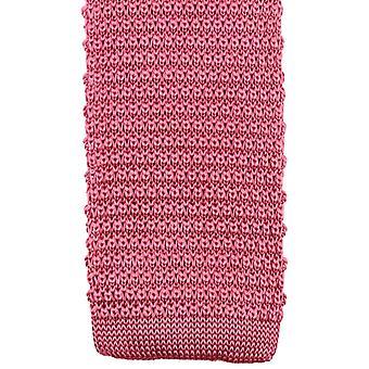 Knightsbridge Neckwear strikket slips - rosa
