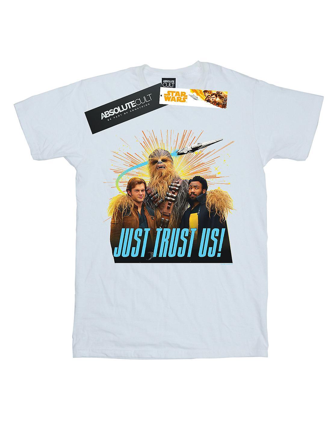 Star Wars Boys Solo Just Trust Us T-Shirt
