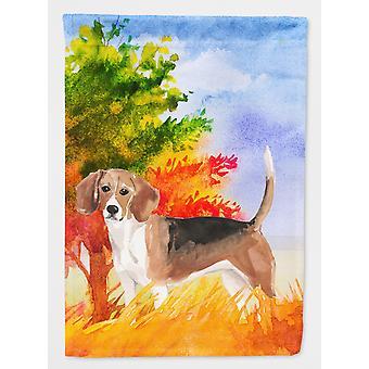 Carolines tesori CK1959GF autunno Beagle bandiera giardino dimensioni
