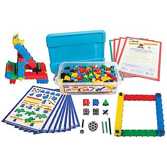 Morphun Educational Junior Levers Single Building Bricks Set (Tub) Construction