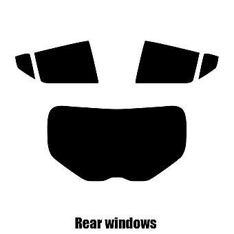 Pre cut window tint - Toyota C-HR - 2018 and newer - Rear windows