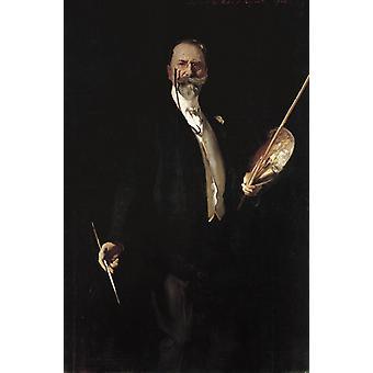 وليام ميريت تشيس,جون سينغر سارجنت, 60x40cm
