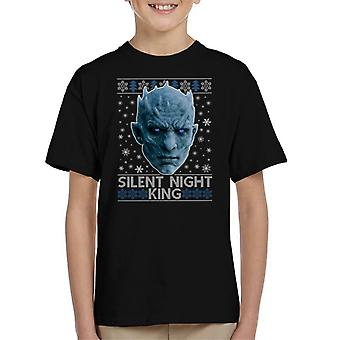 Game Of Thrones Silent Night King Kid's T-Shirt
