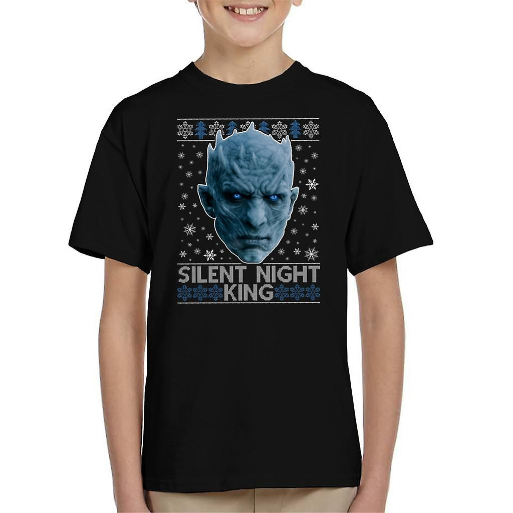 33 Night King From Game Of Thrones By Scepterdpinoy On: Game Of Thrones Silent Night King Kid's T-Shirt