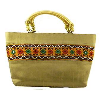 Silk Handbag Divya 09 Silk Sauvage at Pashmina & Silk