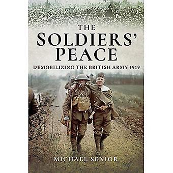 Pace i soldati: Smobilitazione dell'esercito britannico 1919