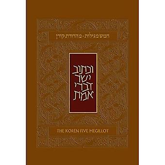 Koren cinq Meguilot, hébreu/anglais, relié