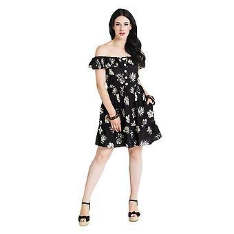 Hell Bunny Pineapple Mini Dress L