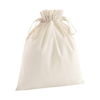 Westford Mill myk økologisk bomull snøring Bag (pakke med 2)