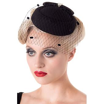 Kielletty Judy Fascinator Hat