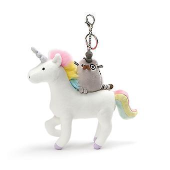 Pusheen Deluxe Clip Fancy Pusheen on Unicorn