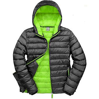 Outdoor Look Mens Bena Warm Padded Hooded Puffer Jacket Coat