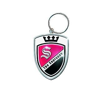 Sopranos keyring keychain Crest logo-ul nou oficial de metal