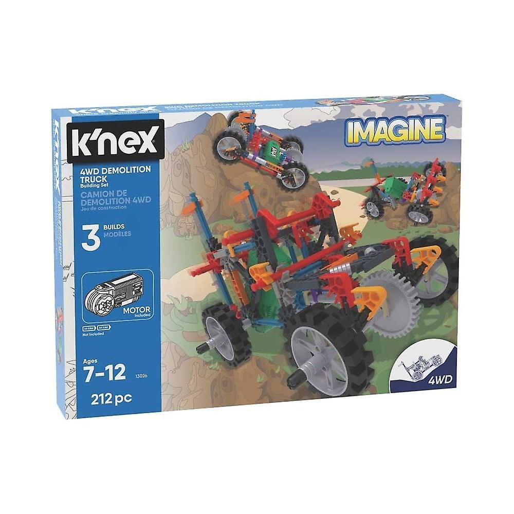 K&Apos;NEX Imagine 4wd Demolition Truck Leksak Sats