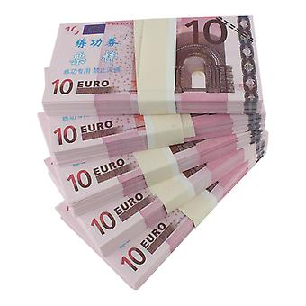 Play money-10 euros (100 banknotes)