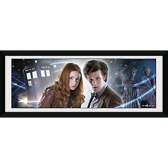 Doctor Who Main incorniciato stampa 75x30cm Collector