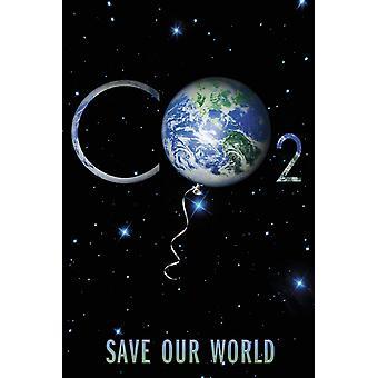 Poster - Studio B - 24x36 Save our World Wall Art CJ1466B