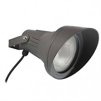 1 licht buiten Spotlight Urban Grey Ip65
