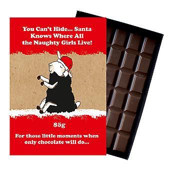 Funny Christmas Gift for beste venn vennskap eske sjokolade Xmas presang til ham eller henne XMS125