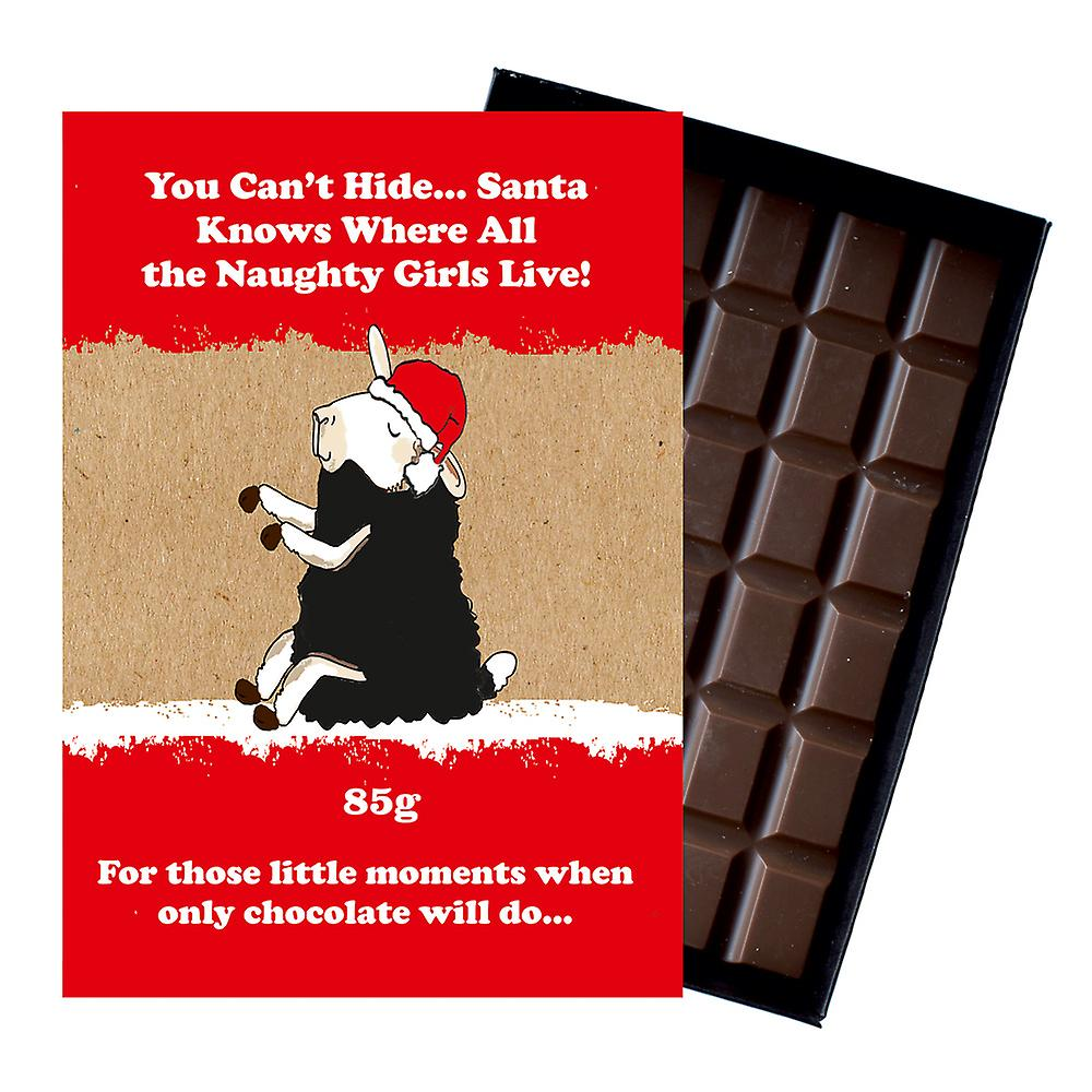 Funny Christmas Gift For Best Friend Friendship Boxed Chocolate Xmas Present for Him or Her XMS125