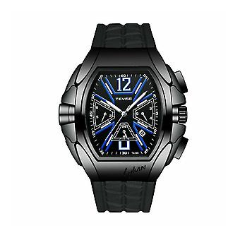 Tevise Mens Homage Automatic Mechanical Watch Black Blue Smart Watches T829 UK
