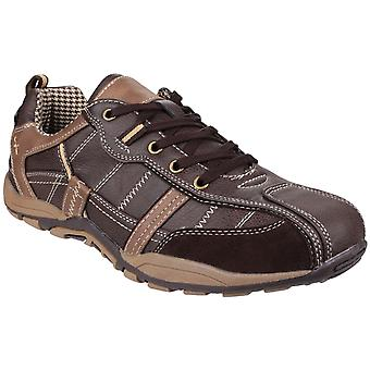 Fleet & Foster Mens Portsmouth Casual Shoe Brown